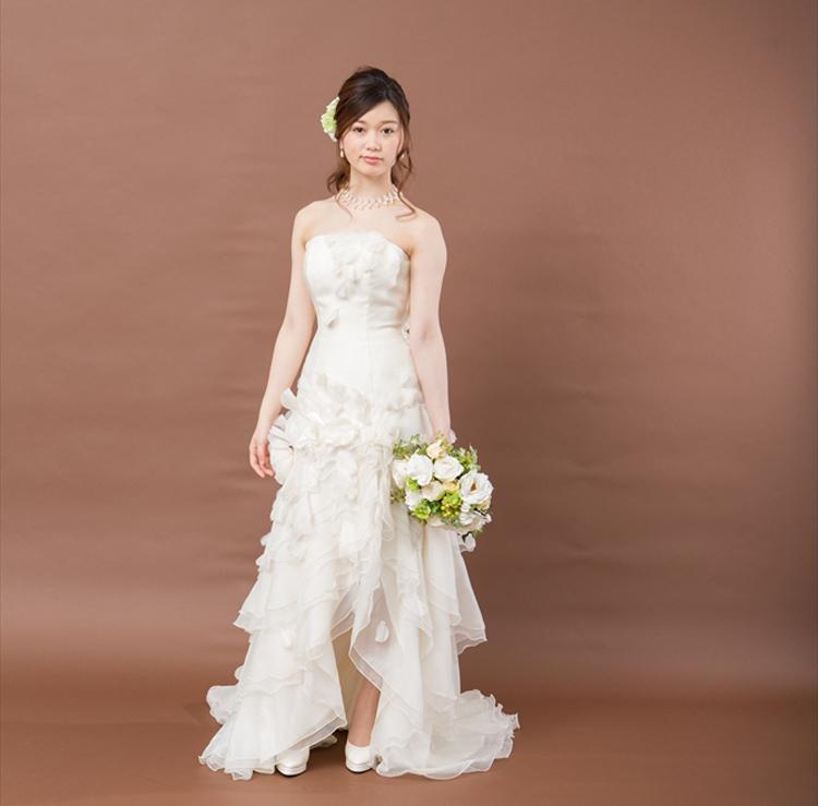 ブライトブルー/1.5次会・2次会ドレス