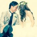 結婚式 二人 ウエディングドレス