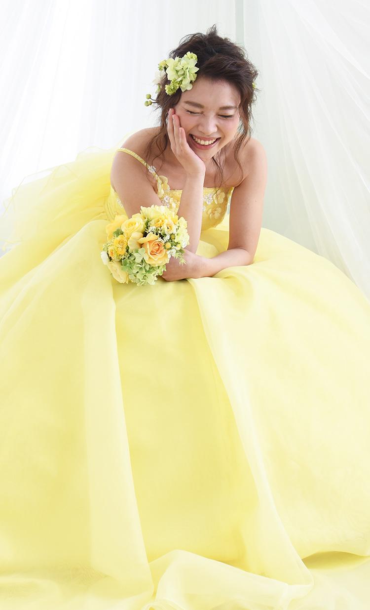カラードレス スマホメイン写真