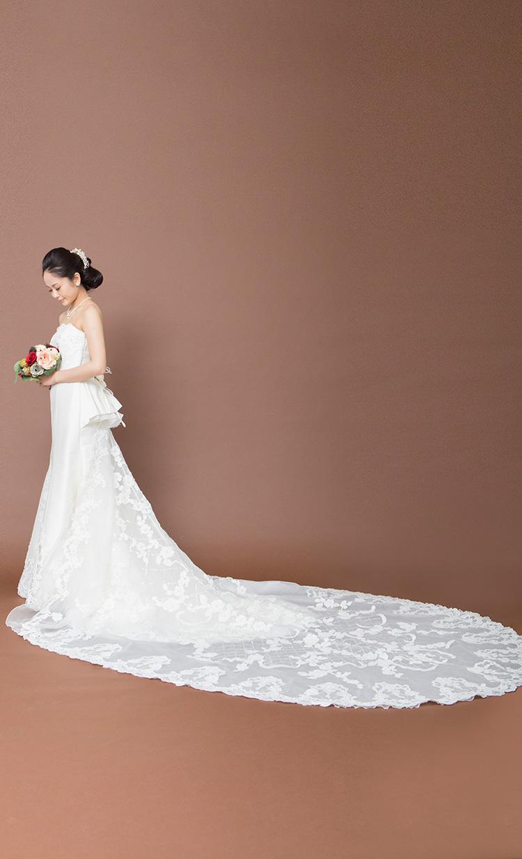 ウェディングドレス マーメイドライン ドレスラインナップ