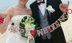 ブライトブルー ウエディングドレス 海外挙式