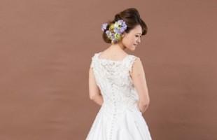 ウエディングドレス 花嫁 シンプル