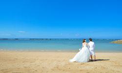 リゾート婚 ウエディングドレス ハワイ