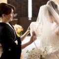ブライトブルー 結婚式 親族