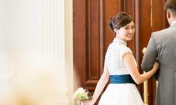 ドレスレンタル福岡 ブライトブルー理想 オススメ ハナユメ 結婚式